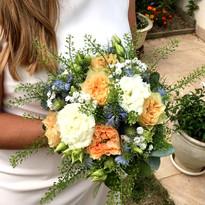 Bouquet de Camille pour la mairie