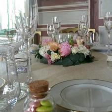 Des fleurs pour les invités