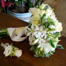 Bouquet rond & boutonnière