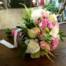 Le bouquet de Chloé pour la séance photos