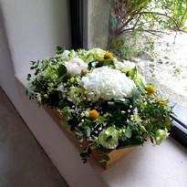 Boite fleurie champêtre
