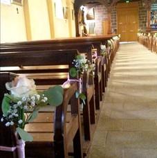 Les bancs d'église