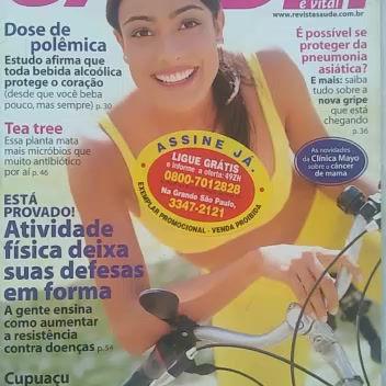 Vídeo mostra revista de 2003 que falava dos perigos do Coronavírus