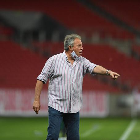 A pior estreia de Abel Braga no Inter