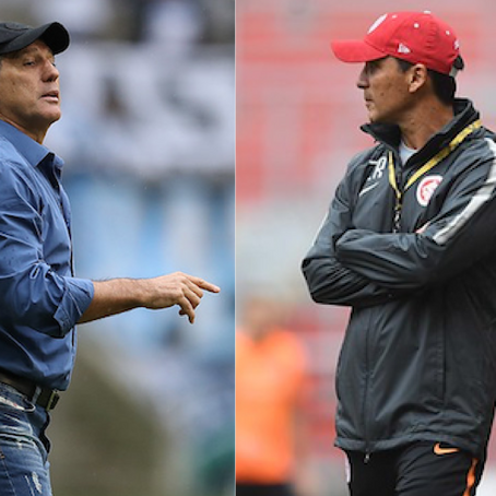 Quem será ousado no Gre-Nal: Renato Portaluppi ou Zé Ricardo?