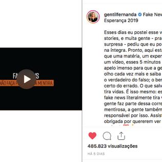 Brasil é recordista mundial em Fake News