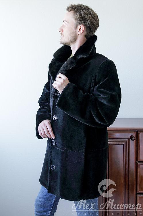 Пальто/бобр,норка