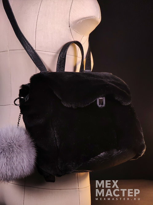 Сумка-рюкзак/астраган