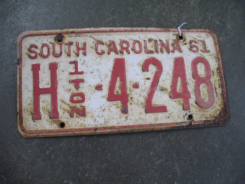 1961 South Carolina 1 Ton H-4-248