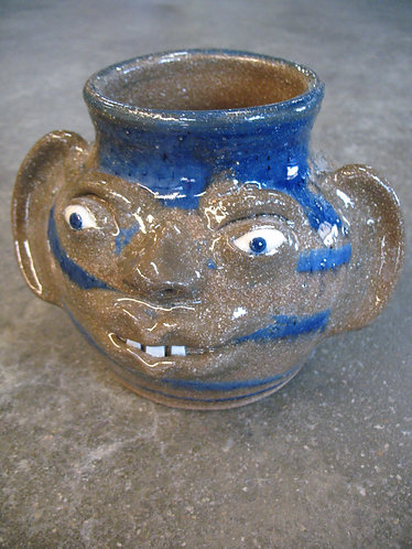 Dale Costner Vale, NC Pottery Ugly Face Jug