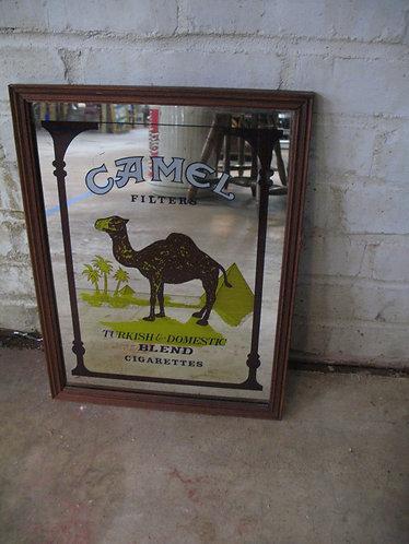 Vintage Camel Advertising Mirror