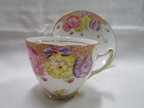 Usina Bone China Teacup and Saucer