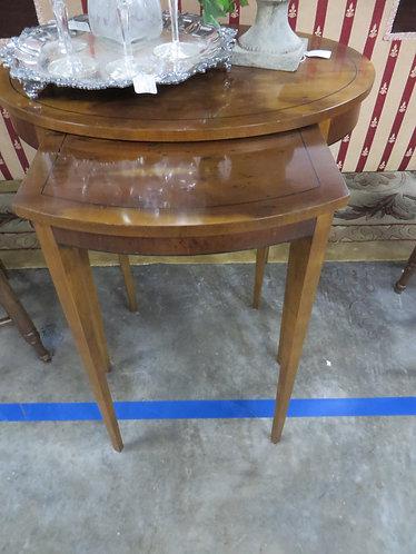 Vintage Baker Furniture Company Nesting Tables