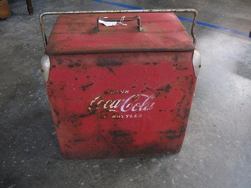 Vintage Coca-Cola Acton Mfg. Co. Metal Cooler