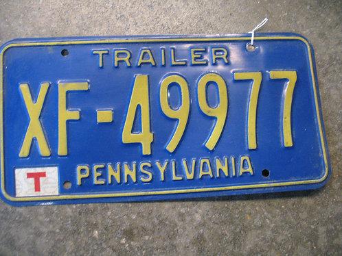 Vintage Pennsylvania Trailer XF-49977