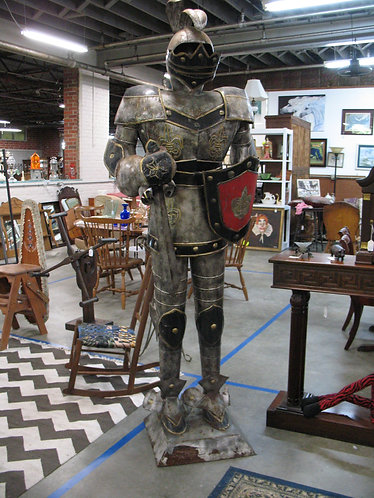 Vintage Medieval Knight Suit of Armor