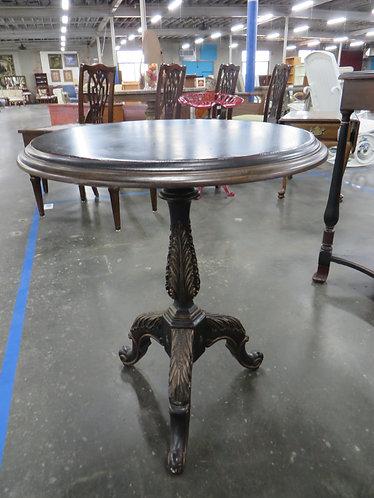 Vintage Tilt Top Hand Painted Table