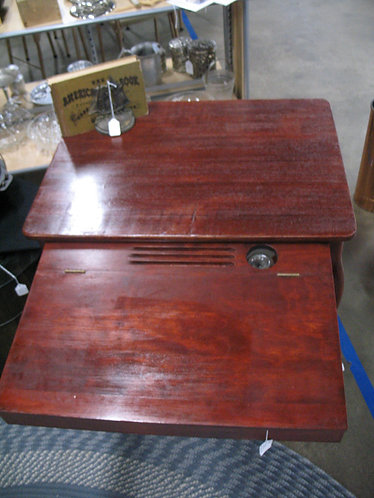 Vintage Cadillac Cabinet Co. Solid Wood Convertible Desk Table