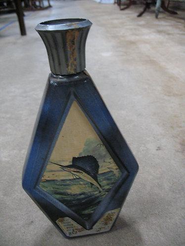Vintage Jim Beam James Lockhart Marlin Bottle