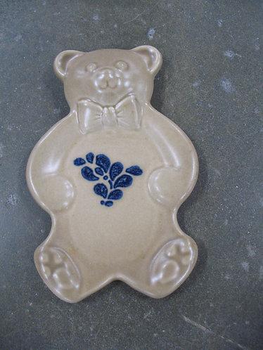 Vintage Pfaltzgraff Yorktowne Teddy Bear Spoon Rest