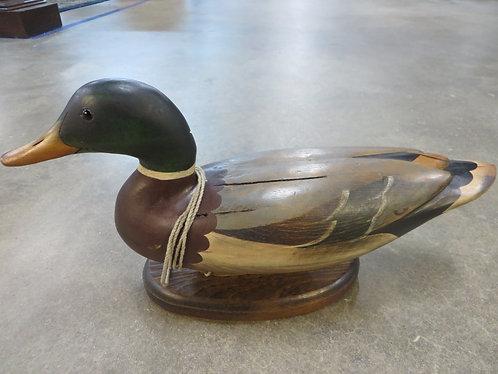 Vintage Tom Taber Wood Carved Duck