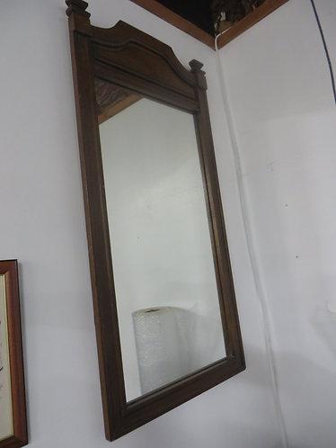 Vintage Mid Century Wooden Framed Mirror