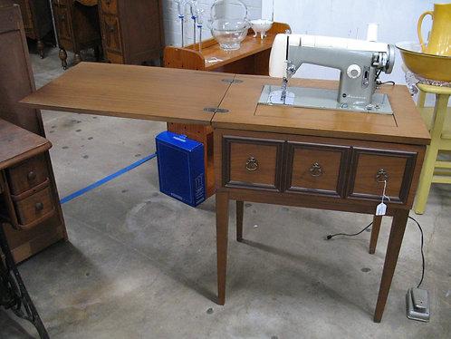 Vintage Kenmore Sewing Machine Model 1120 in Sewing Table