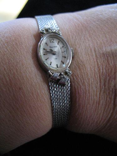 Vintage Bulova 10K Rolled Gold Plate Mechanical Hand Wind Ladies Watch