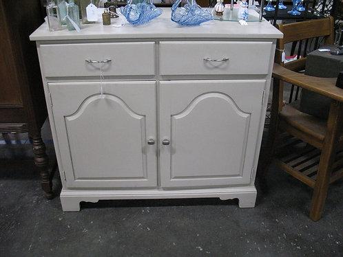 Vintage Solid Wood Storage Kitchen Island Cabinet
