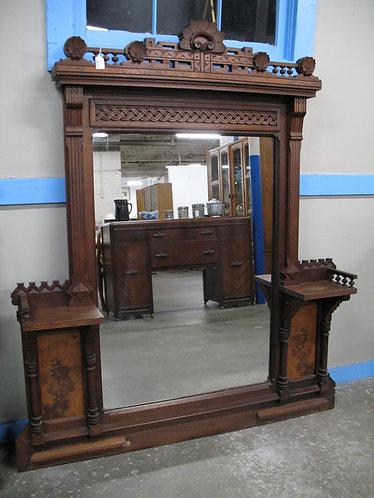 Antique Eastlake Oversized Mirror