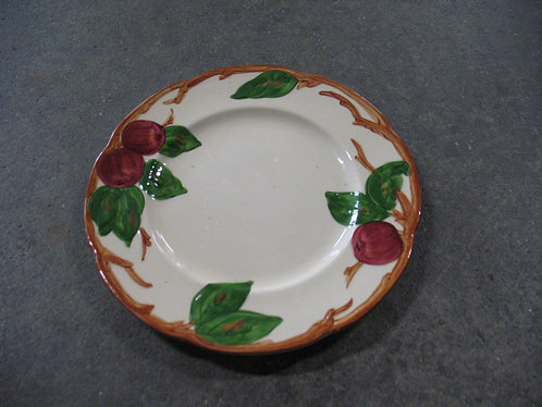 Vintage Franciscan American Apple Salad Plate