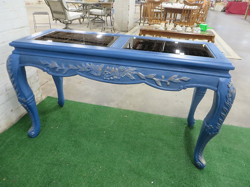 Vintage Painted & Gilded Console Table