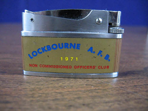 1971 Lockbourne AFB Non Commissioned Officers' Club Lighter