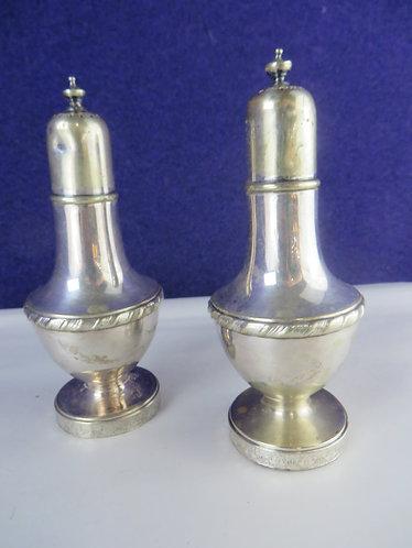 Vintage Gorham Silver Salt and Pepper Shakers