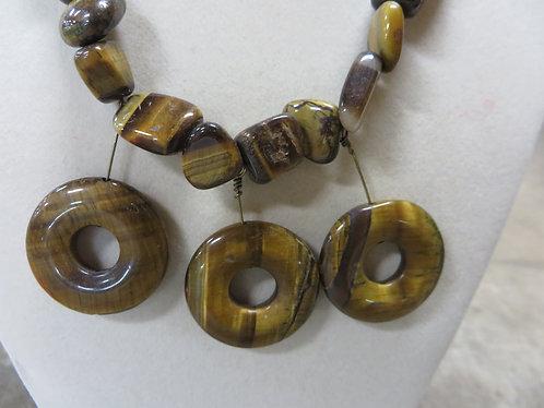 Vintage Tiger Eye Necklace