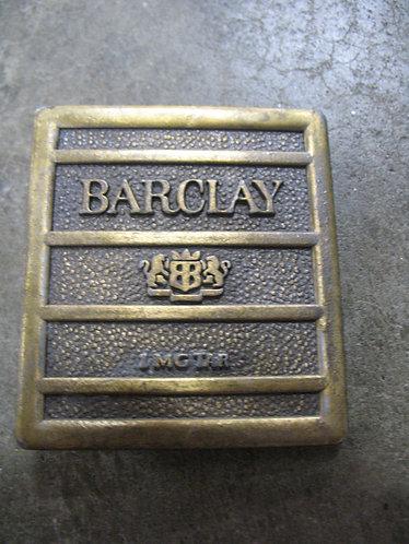 Vintage Barclay Cigarettes Belt Buckle