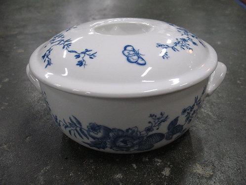 Vintage 1975 Royal Winchester Rhapsody Porcelain Covered Serving Bowl
