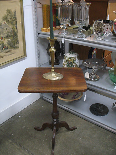 Antique Solid Wood Candle Stand