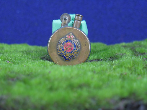 Antique Circa WWI Royal Engineers Brass Lighter