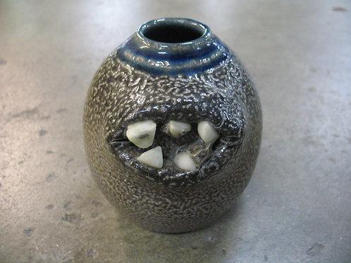 Turn & Burn Pottery Seagrove, NC Mini Ugly Face Jug