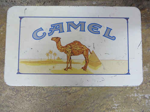 Vintage Camel Storage Tin