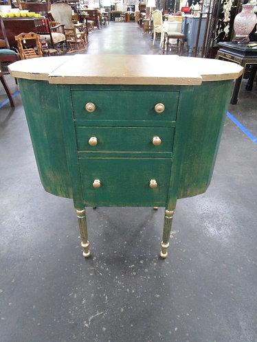 Vintage Martha Washington Custom Painted Sewing Cabinet