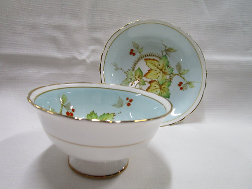Paragon by Appointment, Maple Leaf Teacup and Saucer