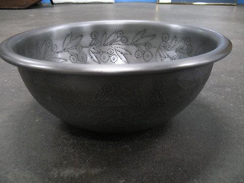 Crate & Barrel Silva Pierced Serving Bowl