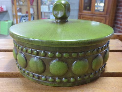Vintage Royal Haeger Covered Bowl