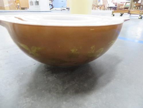 Vintage Pyrex Early American Cinderella Set of 4 Mixing Bowls
