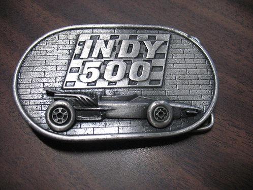 "1977 ""The Brickyard"" Memorial Day Indy 500 Belt Buckle"