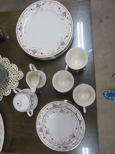 Vintage Noritake Adagio Pattern China (Incomplete Set)