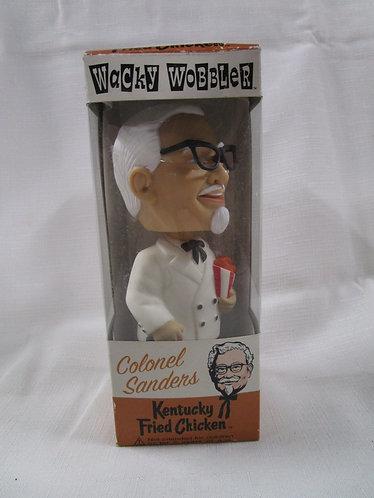 2001 Colonel Sanders Kentucky Fried Chicken Bobblehead Doll Original Box
