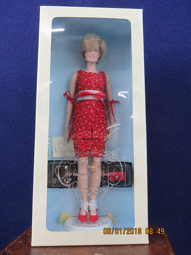 1998 Diana Princess of Wales Christmas Edition Portrait Doll #1288/5000